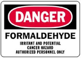 formaldehyde gas