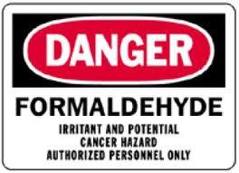 formaldehyde gas