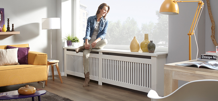 radiator wegwerken