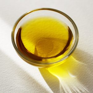 Bakje met olie