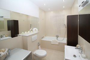 Badkamer met led dimmer