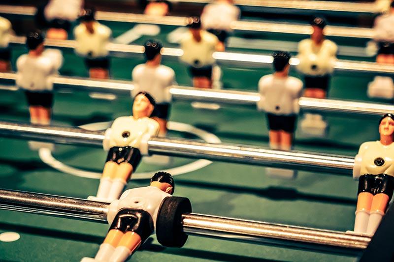 houten voetbalspel